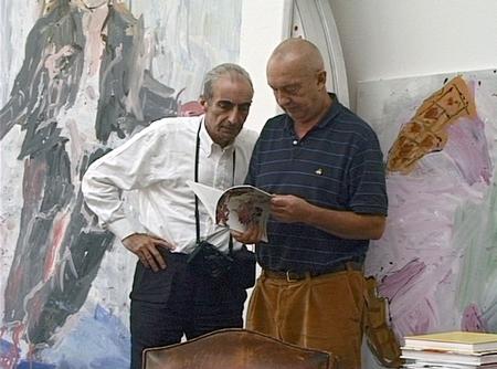 Benjamin Katz und Georg Baselitz