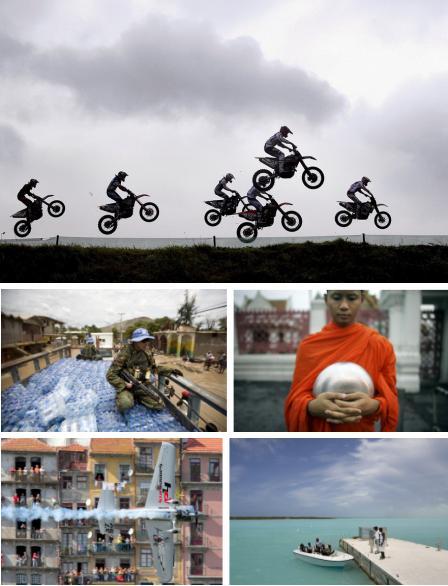 Lierop, Niederlande; Gonaives, Haiti; Bangkok, Thailand; Porto, Portugal; Providenciales, Turks & Caicos Islands. - Bildgalerie (Bilder Keystone)