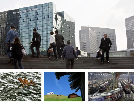 Paris, Frankreich; Erfurt, Deutschland; St. Antoenien, Schweiz; Maschen, Deutschland -> Bildgalerie (Bilder Keystone)