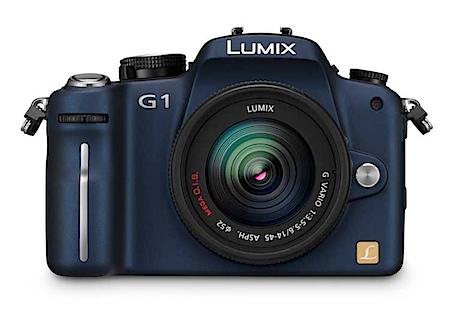 Die neue Panasonic Lumix DMC-G1 (Foto Panasonic)