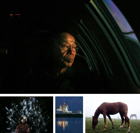 Iwo Jima; Manchester, England; Cape Canaveral, Florida, USA; Entlebuch, Schweiz. (Bilder Keystone)