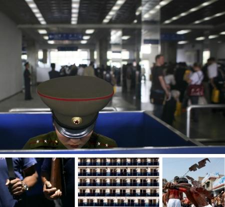 Pyongyang, Nordkorea; La Paz, Bolivien; Belfast City, Nordirland; Karatschi, Pakistan. (Bilder Keystone)