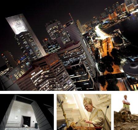 Singapur; Hongkong, China; Fulda, Deutschland; Malaga, Spanien. (Bilder Keystone)