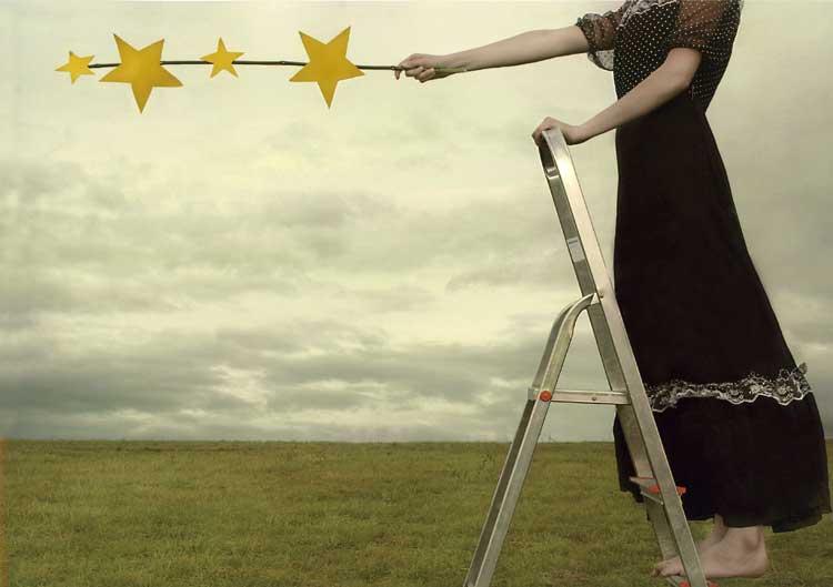 Deutscher Jugendfotopreis 2008: Wie die Sterne  in den Himmel kommen