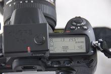Die Nikon zeigt das GPS-Symbol (Foto PS)