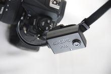 Das di-GPS kann auch an den Riemen. (Foto PS)