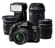 E-520 Evolution Kit (Bild: Olympus)