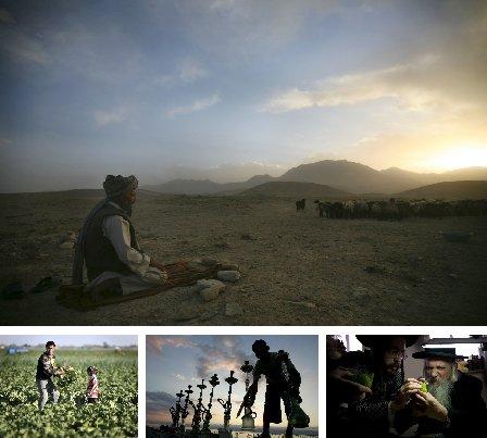 Kabul, Afghanistan; Shenyang, China; Jordanien; Jerusalem, Israel. (Bilder Keystone)