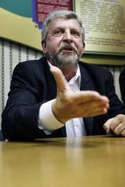 Oppositionsführer Alexander Milienkewich (© 2008 Jan Zappner)