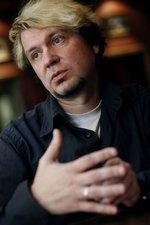 Leon Wolski, Rockstar, im Interview. (© 2008 Jan Zappner)