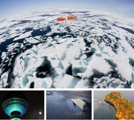 Baffin-Bay, Kanada; Berlin, Deutschland; Chicago, USA; Nikko, Japan. (Bilder Keystone)