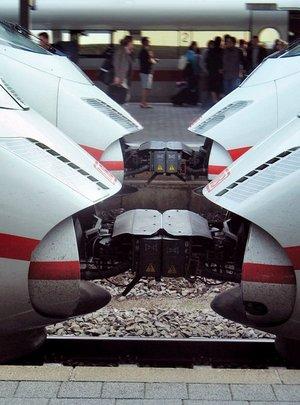 Bearbeitete Version der Zugspitzen.