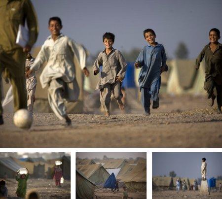 Katcha Garhi-Flüchtlingslager bei Peshawar, Pakistan. (Keystone / AP / Emilio Morenatti)