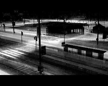 Tuomo Rainio, Still from City (from the series Tracescape), 2006, Video, © Tuomo Rainio