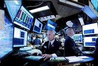 Börsenhändler an ihrem Steuerstand an der New Yorker Börse. (Keystone / AP / Peter Foley)