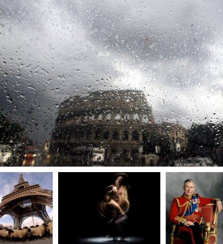 Rom, Italien; Paris, Frankreich; Cadiz, Spanien; London, England. (Bilder Keystone)