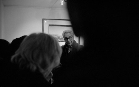 Elliot Erwitt in Mnchen, fotografiert mit einer Leica M2.  Juri Gottschall