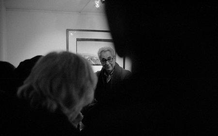 Elliot Erwitt in München, fotografiert mit einer Leica M2. © Juri Gottschall