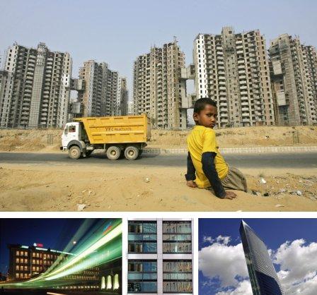 Gurgaon, Indien; Zürich, Schweiz; Tokyo, Japan. (Bilder Keystone)