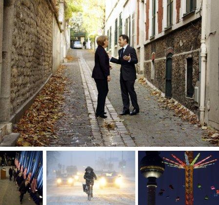 Paris, Frankreich; Chicago, USA; Stochholm, Schweden; Berlin, Deutschland. (Bilder Keystone)