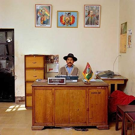 Jan Banning: Bolivien, 2003. Jan Banning / laif