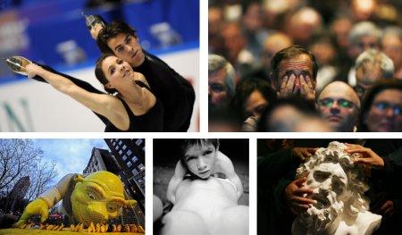 Tokio, Japan; Luzern, Schweiz; New York, USA; Schweiz; Bogota, Kolumbien. Klick für Vollansicht. (Bilder Keystone)