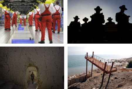 Zilina, Slovakei; Jerusalem, Israel; Loi Sam, Pakistan, Totes Meer, Israel. Klick für Vollbild (Bilder Keystone)