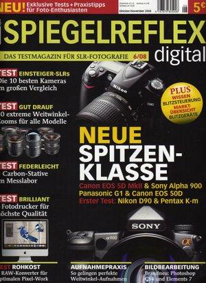 'Die erste Ausgabe von 'Spiegelreflex digital'