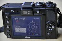 Leider meine häufigste Ansicht des P6000-GPS. (© ps)