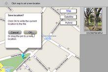Geotagging mit ViewNX: Die Position kam leider nicht aus dem Bild.