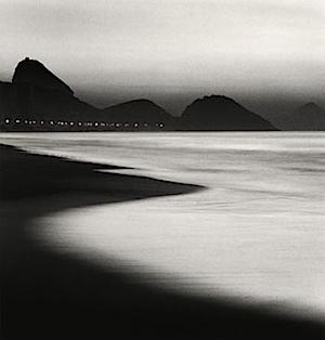 Michael Kenna: Copacabana Beach, Rio de Janeiro, Brazil, 2006