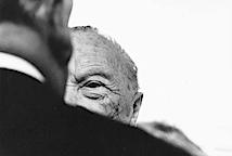 Robert Lebeck: Konrad Adenauer an seinem 90. Geburtstag, Bonn 1966