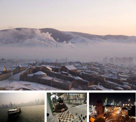 Ulan Bator, Mongolei; Hongkong, China; Budapest, Ungarn; Frankfurt, Deutschland. Klick für Vollansicht (Bilder Keystone)