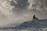 Keine Drohung der Wettergötter, sondern vielmehr die Erlösung: Die Wolken rissen auf, der angekündigte Schneesturm blieb aus. Auf der Wegfahrt sahen wir Monument Valley dann doch noch. (Bild ps)
