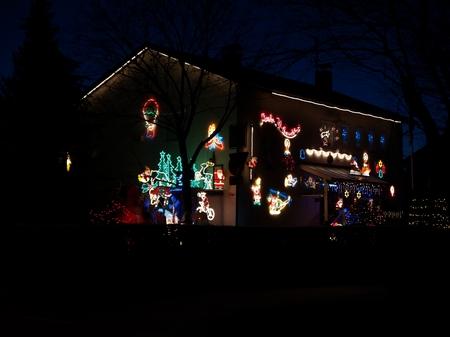 Das Weihnachtshaus 2007.