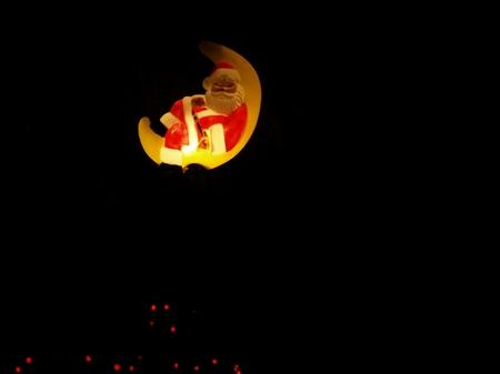 ...und so ist der Weihnachtsmann etwas zu dunkel geraten...