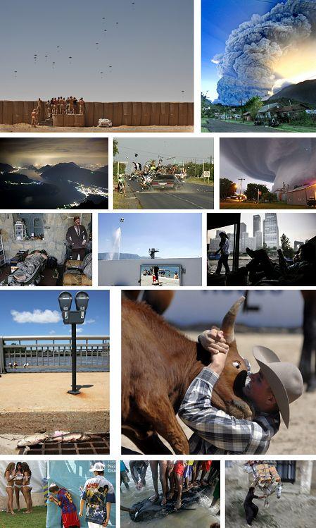 Pressebilder von April bis Juni 2008 (Fotos Keystone)