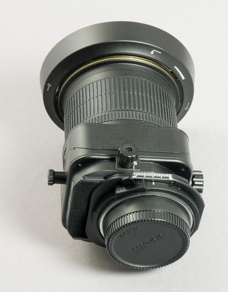+/- 11,5 mm Shift sind beim PC-E NIKKOR 24mm / 3,5D ED möglich (Bild: W.D.Roth)