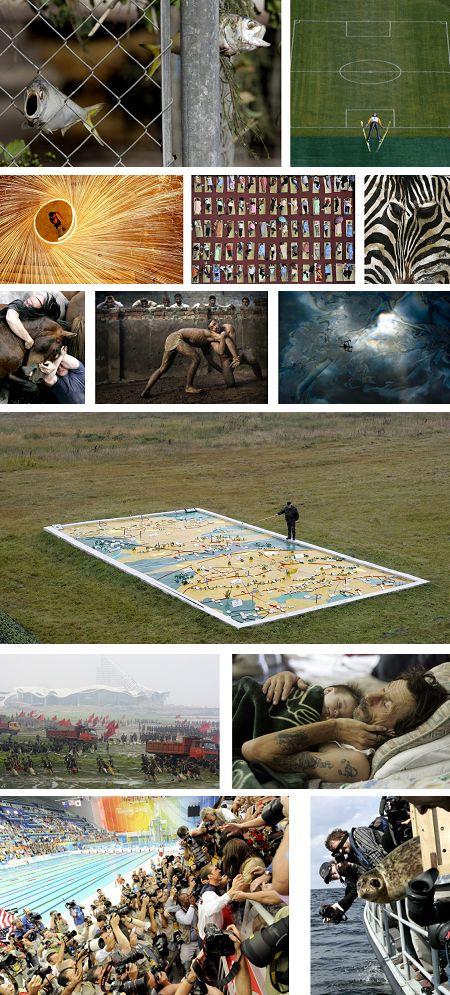 Die besten Newsbilder von 2008: Juli bis September. Klick für Vollansicht (Keystone)