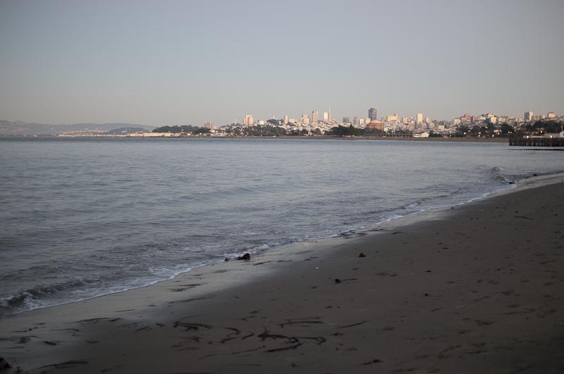 Blick nach Downtown SF - eine Minute später.
