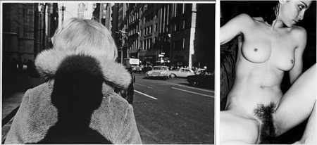 'New York City. 1966.' (links), die nackte Madonna in 'nude' von 1979 (keystone / Lee Friedlander)