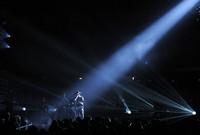 Kenny Chesney bei seinem Auftritt an den 51 Grammy-Awards in Los Angeles am Wochenende. (Keystone / AP / Mark J. Terrill)