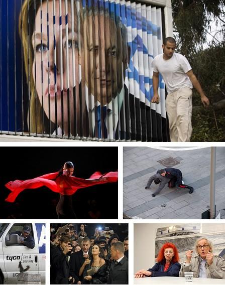 Tel Aviv, Israel; Madrid, Spanien; Turin, Italien; Washington DC, USA; Berlin, Deutschland; Lausanne, Schweiz. Klick für Vollansicht (Bilder Keystone)