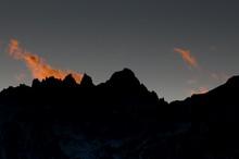 Mount Whitney, der höchste Berg der zusammenhängenden USA, im Profil (© PS)