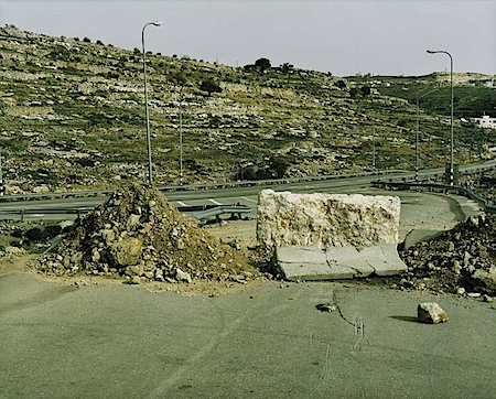 Sophie Ristelhueber: West Bank, WB # 2