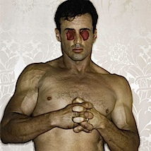 Michel Comte: Sylvester Stallone, L'Uomo Vogue, 1994
