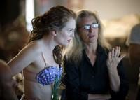 Annie Leibovitz (hinten) und Julianne Moore (Keystone)