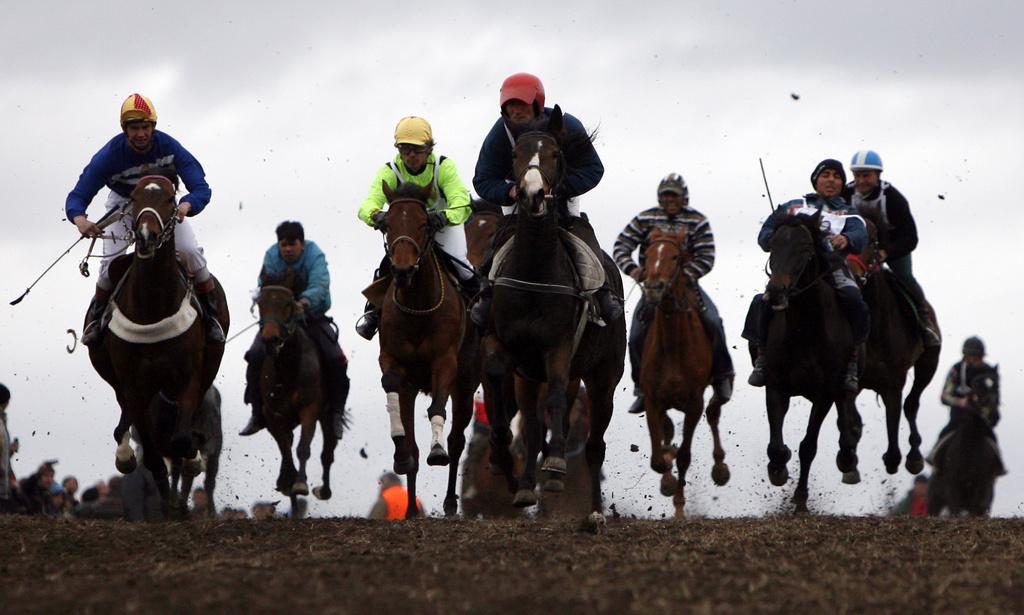 Bulgarische Reiter (Keystone)