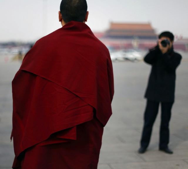 Buddhistischer Mönch (Keystone)