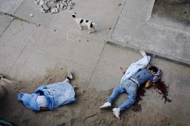 Leichen in Guatemala (Keystone)